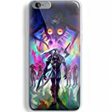 The legend of zelda majora mask fullcolor for Iphone and Samsung Galaxy Case (iPhone 6/6s white)