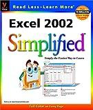Excel 2002 Simplified, Ruth Maran, 0764535897