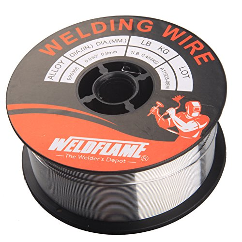 Weldflame ER5356 1-Pound General Purpose Aluminum Welding Wire 0.035 Inch