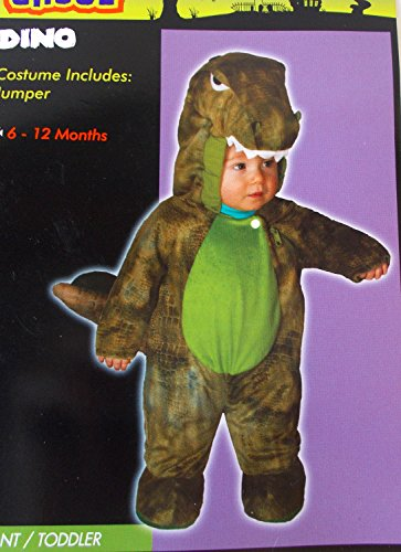 [Dino Dinosaur Dragon Green Child Infant Jumper Costume 6-12M NIP] (Kmart Costumes For Babies)