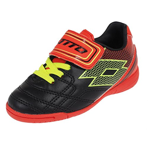 Lotto Spider XI Identificación Junior SL, Chicos, Black/Yellow Safety
