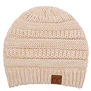 C.C Exclusives Cable Knit Beanie – Thick, Soft & Warm Chunky Beanie Hats (HAT-20A)(HAT-30)(HAT-730)