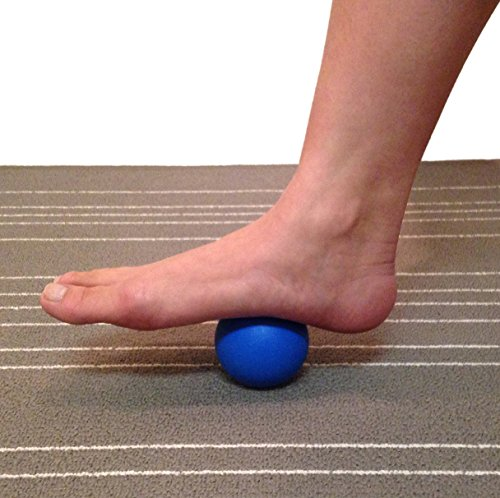 Kieba Massage Lacrosse Balls for Myofascial Release, Trigger Point Therapy, Muscle Knots, and Yoga Therapy. Set of 2 Firm Balls (Blue and Red) by Kieba (Image #4)