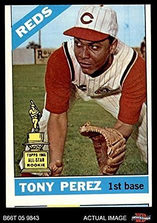 Amazoncom 1966 Topps 72 Tony Perez Cincinnati Reds