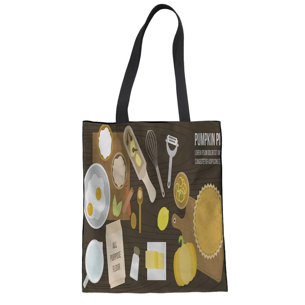 Womens Canvas Bag Medium Canvas Tote Bag for Beach,Shipping,Groceries,Books Little Bear /& Rabbit 13.316.5
