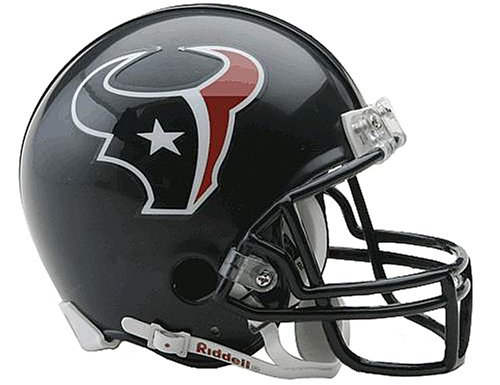 NFL Houston Texans Replica Mini Football Helmet - Riddell Nfl Replica Mini Helmet