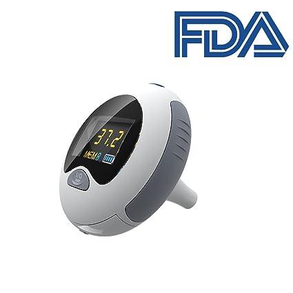 Acurio AT-601 - Termómetro digital para oído (infrarrojos, termómetro de temperatura corporal
