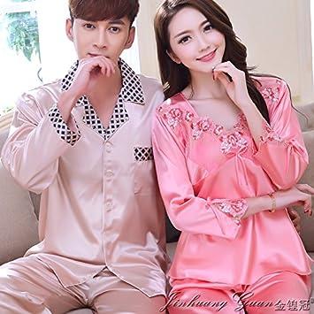 1d22698a2401e9 Jjwzaa Peignoir de bain Peignoir de bain Printemps et Automne Cardigan  Chemise de nuit Pyjama pour