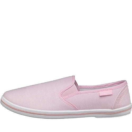 Designer ME - Zapatillas para mujer Rosa rosa palo: Amazon.es: Zapatos y complementos