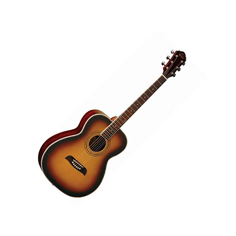 Oscar Schmidt OF2 Folk-Size Acoustic Guitar - Tobacco Sunburst by Oscar Schmidt By Washburn