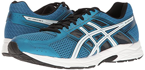 ASICS Men's Gel-Contend 4 Running Shoe, Thunder Blue/White/Black, 6 M US by ASICS (Image #6)