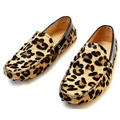 cheetah print dress shoes for mens - 6