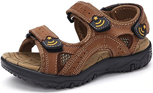 ppxid-boys-leather-open-toe-outdoor-casual-sandbeach-sandals-brown-35-us-size