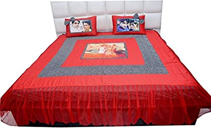 Curtain Hub Dr. Health Mattresses Customized Gift Personalised Photo  Bedsheet Glace Cotton With Pillow
