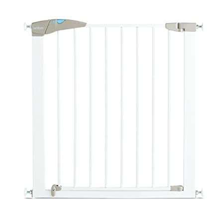 Lindam Sure Shut Axis Pressure Fit Safety Gate 76 - 82 cm, White-Best-Popular-Product