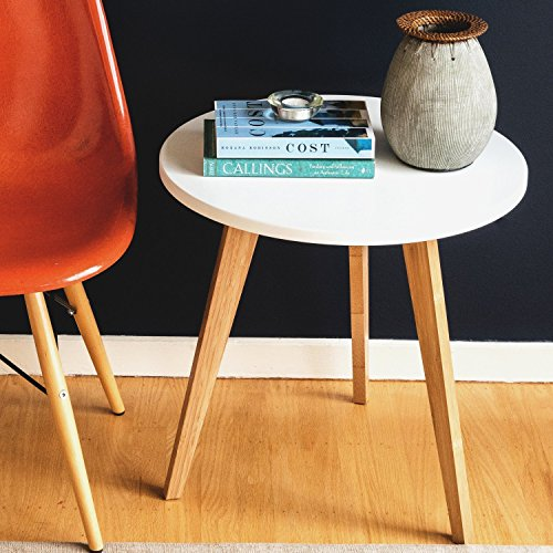 Modern Bamboo Coffee Table: STNDRD. Bamboo End Table: Modern Round Coffee Table