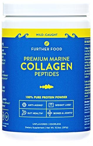 Further Food Premium Marine Collagen Peptides Protein Powder: Wild-Caught, Non-GMO, Paleo. 100%...