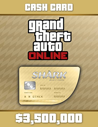 Grand Theft Auto V:  Whale Shark Cash Card - PS4 [Digital Code] by Rockstar Games
