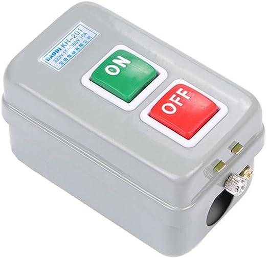 Interruptores de botón pulsador, 3Phase Self Locking on/off ...