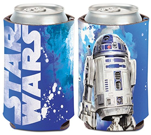 Star Wars R2-D2 1-Pack 12 oz. 2-Sided Foldable Neoprene Can Cooler