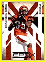 2010 Epix #21 Chad Ochocinco Johnson CINCINNATI BENGALS OREGON STATE