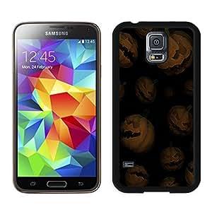 Best Buy Design Halloween Pumpkins Black Samsung Galaxy S5 Case 1
