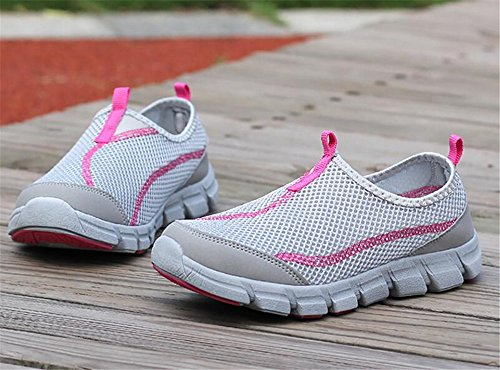 Shoes Walking Mesh Grey Water Shoes Quick for Aqua Shoes Barefoot Women's edv0d2v266 Dry Swim Women Pool qwxRgg