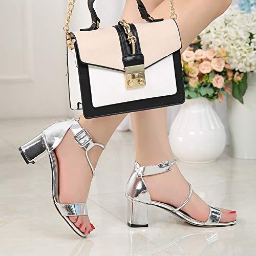 donna Comode semplici Scarpe da donna Fashion Sandali alti da scarpe Tacchi New Jqdyl XEFq11