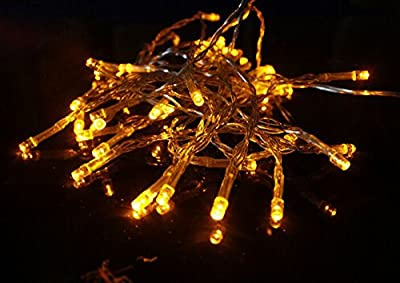 WOOTOP 2M 20 LED Battery Operated Christmas Wedding Fairy String Lights