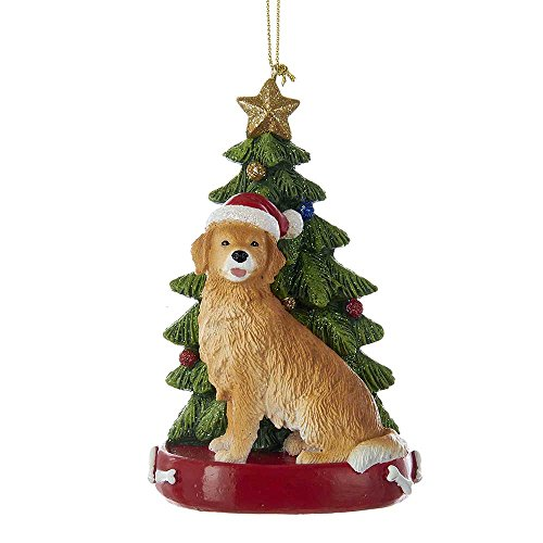 Kurt Adler Golden Retriever Ornament (Ornaments Golden Christmas)