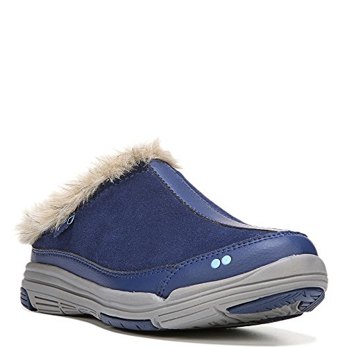 Ryka Womens Azure Fashion Sneaker Jet Ink Blu / Grigio