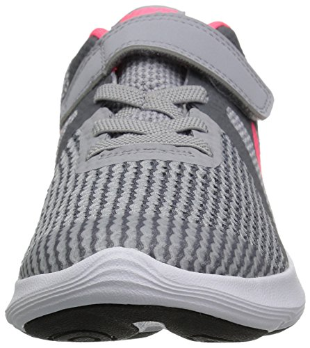 Nike Girls' Revolution 4 (PSV) Running Shoe, Wolf Racer Pink-Cool Grey-White, 2Y Child US Little Kid by Nike (Image #4)