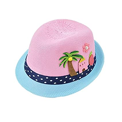 Buy Generic ROSE   Fashion Baby Girls Straw Hats Girls Sandbeach Decoration  Lovely Sun Hat Chilidren Kids Soft hats For Summer CM-003 Online at Low  Prices ... 2aaa8f55f69