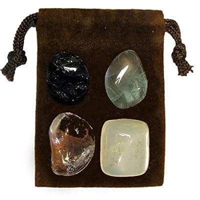 Gemstone ENERGY SET Crystal Healing - AURA CLEANSING