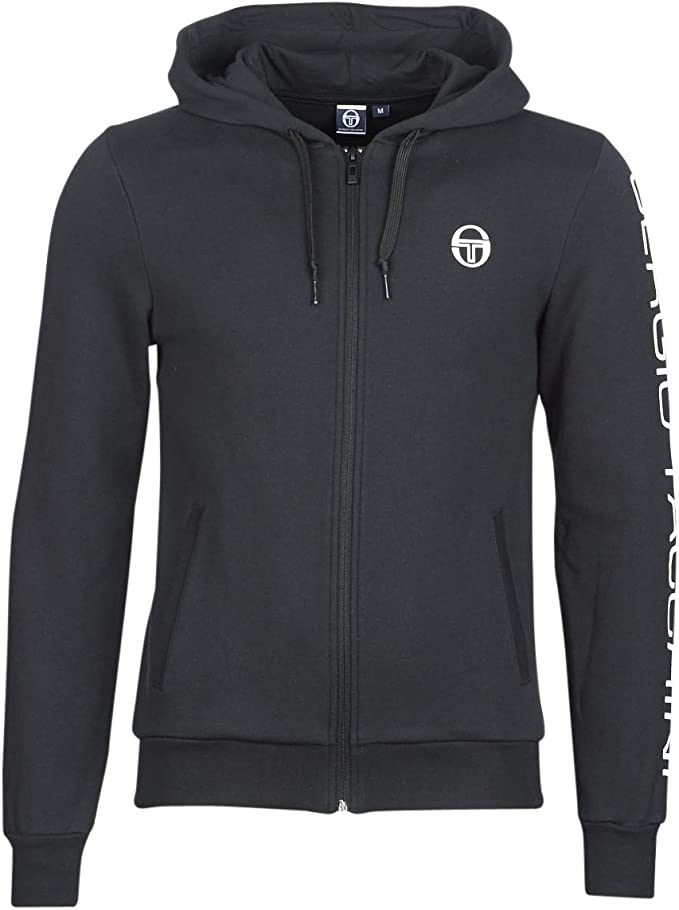 Sergio Tacchini Sweat Capuche ZIPPÉ Lamar Noir (m): Amazon