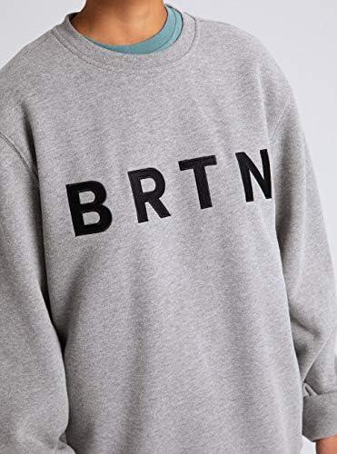 Burton Herren Brtn Sweatshirt, Gray Heather, XXL