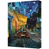 Café Terrace at Night on the Place du Forum by Vincent van Gogh 24x30 Gallery Wrapped Canvas