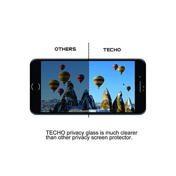TECHO-Privacy-Screen-Protector-for-iPhone-8-7-6s-6-Anti-Spy-9H-Tempered-Glass-Edge-to-Edge-Full-Cover-Screen-Protector-Anti-Fingerprint-Bubble-Free-Full-Coverage-Black