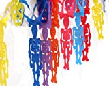 Day of the Dead Halloween Party Flags Multi Colored