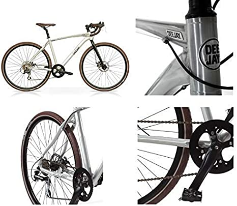 Radio Deejay Bici Bicicleta Gravel Bike by Aluminio con Frenos de Disco/Original Made by: Amazon.es: Deportes y aire libre
