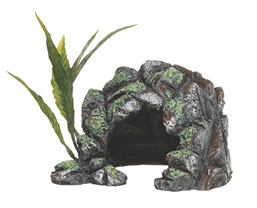 Marina Decor Polyresin Cave, Small (Plant Aquarium Ornament Decoration)