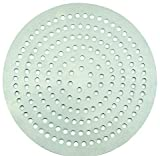 Winco APZP-13SP, 13-Inch Super-Perforated Aluminum Pizza Disk with 292 Holes, Pizza Screen Crisper