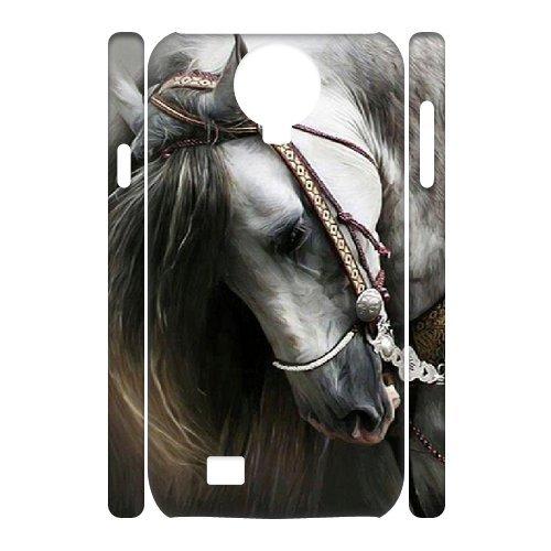 wholesale dealer e0288 db3eb Amazon.com: WEUKK Horse Samsung Galaxy S4 I9500 3D cases, diy case ...