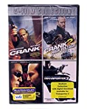 Jason Statham 4 Film Collection: Crank, Crank 2 High Voltage, War, Transporter 3