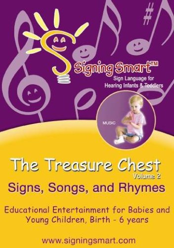 Signing Smart Treasure Chest Vol 2: Signs, Songs and Rhymes (Video with companion CD)