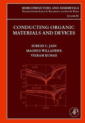 Conducting Organic Materials and Devices, Volume 81 (Semiconductors and Semimetals)