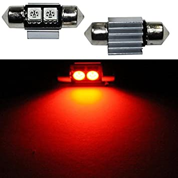 10x LED Festoon bombilla 36mm C5W 6500K Canbus cooler 12V Car Auto Coche Bulb