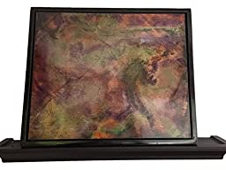 Abstract Art on Wood - \