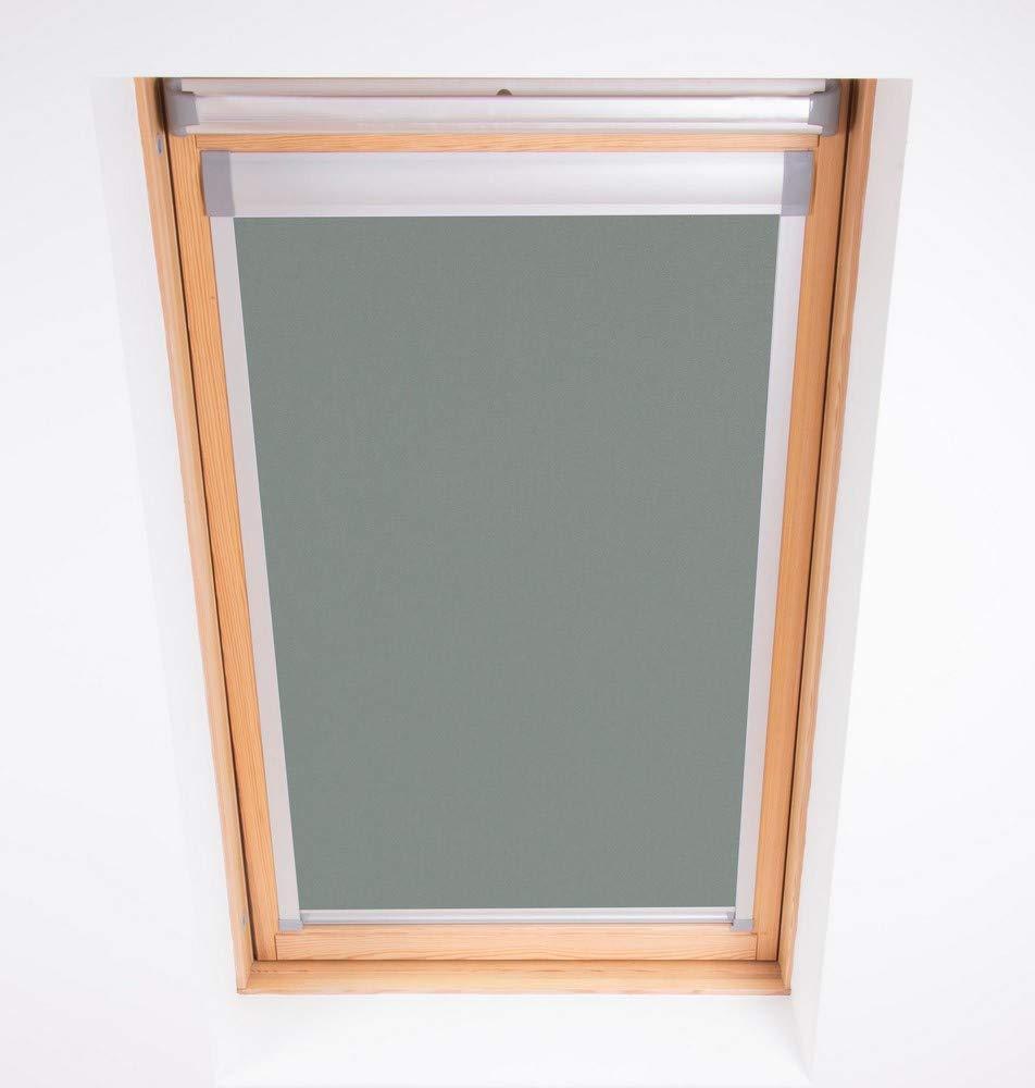 Bloc Skylight Blind 104/-/Estor para Ventanas de Techo Tipo velux Color Blanco Opaco