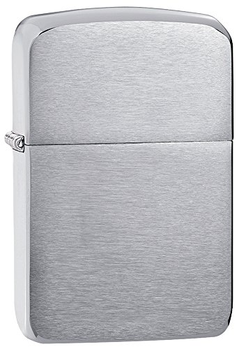 - Zippo 1941 Replica Pocket Lighter, Brushed Chrome